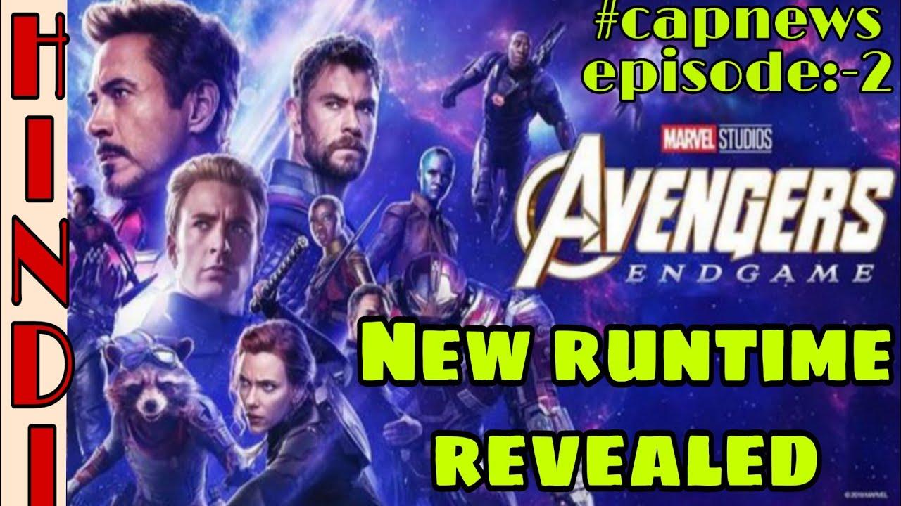 Avengers  Endgame new  runtime , revealed Avengers 4 by the Hollywood reporter  Hindi CAPTAIN THOR