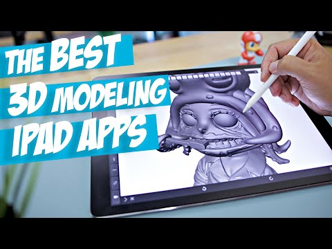 The Best IPad Apps For 3D Modeling   3D Printing