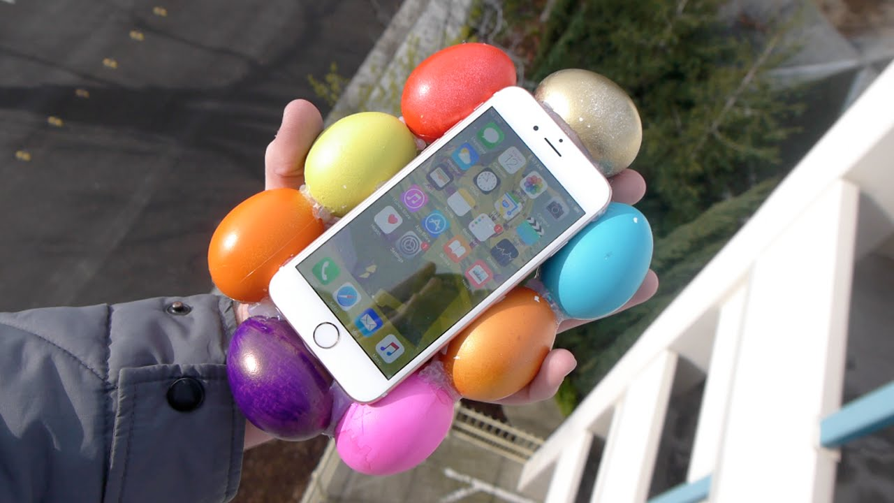 Can Eggs Protect an iPhone 6S from 100 FT Drop Test?