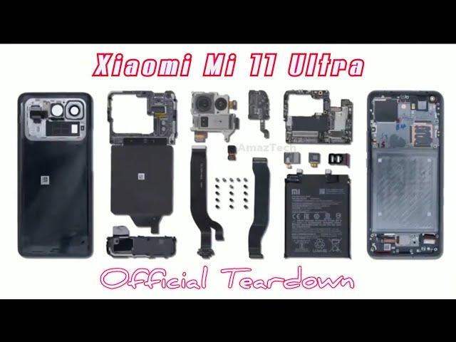 Xiaomi Mi 11 Ultra - Official Teardown