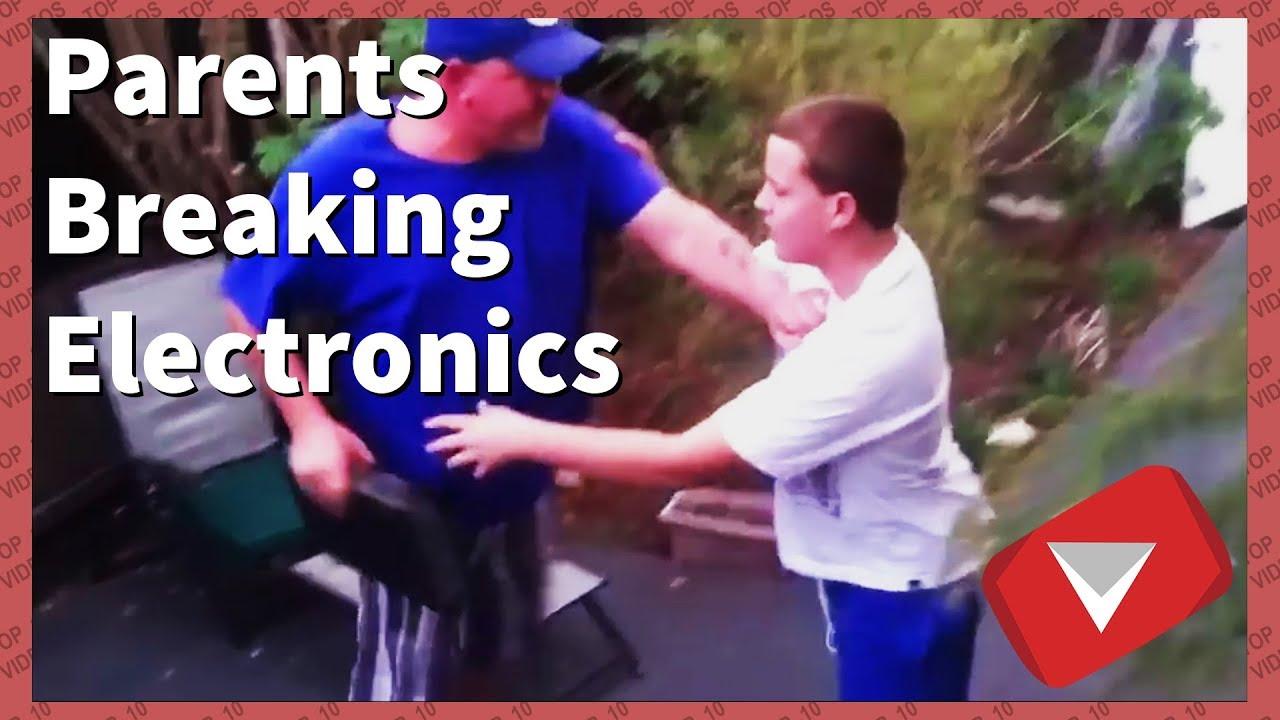 Parents Destroying Kids Electronics [2018] (TOP 10 VIDEOS)