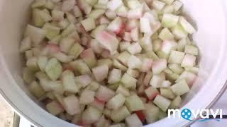 Варенье из арбуза/ без стерилизации