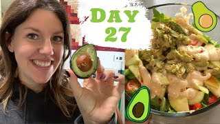 DAY 27 Mostly RAW Vegan Food Challenge / PREGNANT
