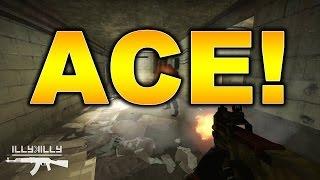P90 CS GO ACE Mirage