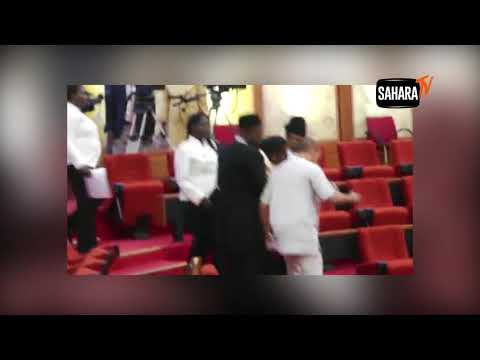 How Sen. Omo-Agege 'Thugs' Invade The Senate And Steal Mace