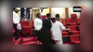 How Sen. Omo-Agege 'Thugs' Purportedly Invaded The Senate And Steal Mace