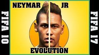 NEYMAR JR evolution [FIFA 10 - FIFA 17] ⚽ thumbnail