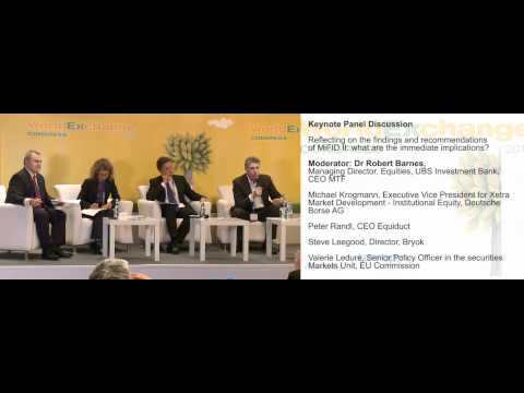 MiFID II: The findings, implications & immediate implications - World Exchange Congress