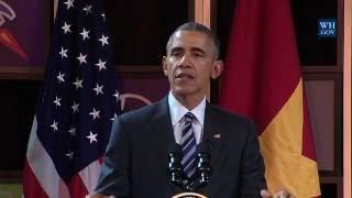 President Obama Delivers Remarks on Entrepreneurship and Opportunity