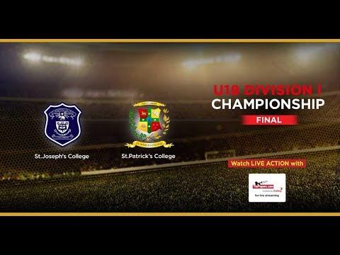 St.Joseph's College v St.Patrick's College – U18 Division I (Final)