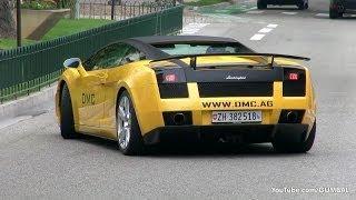 DMC Lamborghini Gallardo - VERY LOUD Revs + Accelerations!