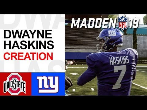 Download How To Make Dwayne Haskins In Madden 19 Ohio State