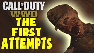 call of duty ww2 zombies groesten haus gameplay