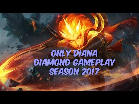 How to Make a Gangplank Rage Quit - Only Diana Diamond 4 [NA] - Patch 7.7