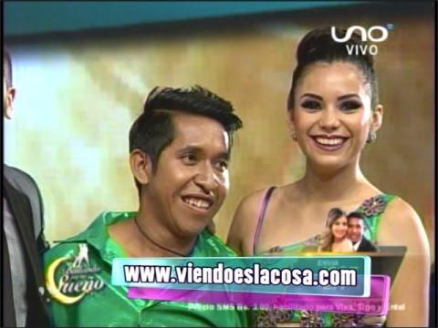 JOSÉ PADILLA BESÓ A DANIELA SUAREZ (PRIMER BESO) - BAILANDO POR UN SUEÑO BOLIVIA