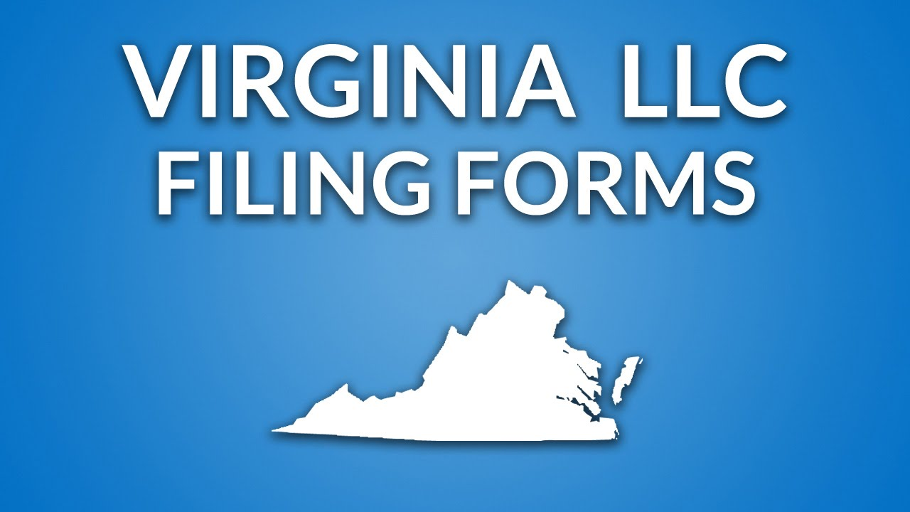Virginia Llc Formation Documents Youtube