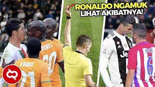 Ketika Emosi Ronaldo Tidak Terkontrol, Beginilah Kelakuannya..