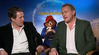The Two Hughs From Paddington 2 | Chatting With The Stars