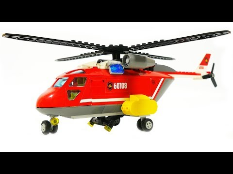Lego Fire Helicopter 60108 Cinemapichollu