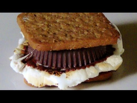 Reese's S'mores Made with Gluten Free Grahams