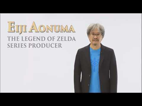 Eiji Aonuma wins Lifetime Achievement Award