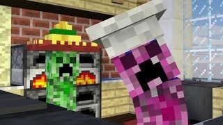 Monster School VS Minecraft Life Cooking Challenge Minecraft Animation IRL Школа Монстров