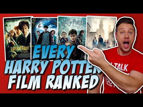 All 10 Harry Potter Films Ranked!