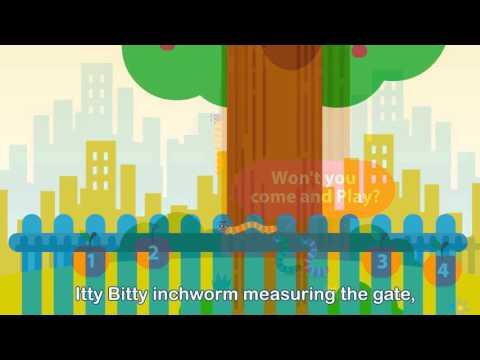 Itty Bitty Inchworm (Kid's Music Video)