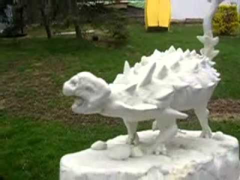 Dino tech Sculptures (Ankylosaur)1287