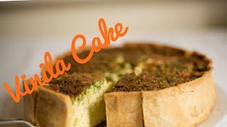 Vanilla  Lemon  Pan Cake  Recipe