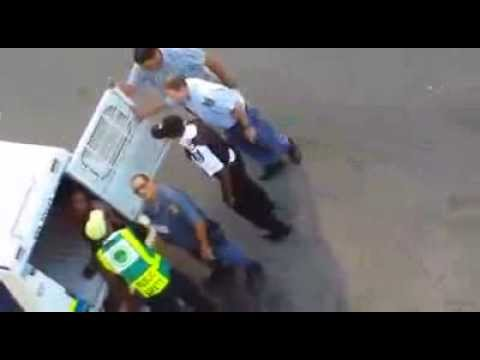 Corrupt police in Cape Town South Africa!