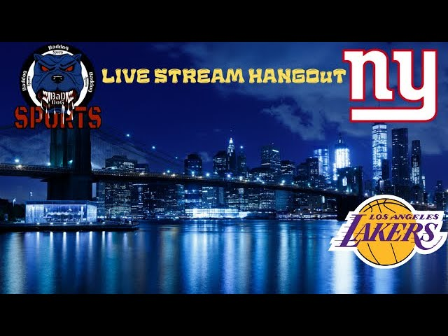 Happy Easter! Live Stream Hangout NBA Q & A. Lakers Get Hammered 104-86, Injury Updates & Whatever