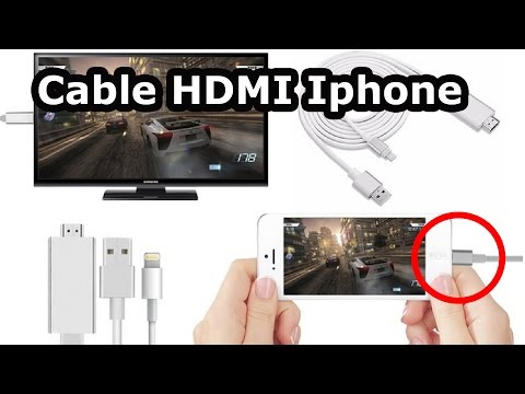Test Du Cable Hdmi Pour Iphone Ou Comment Brancher Un Iphone Sur Une TV