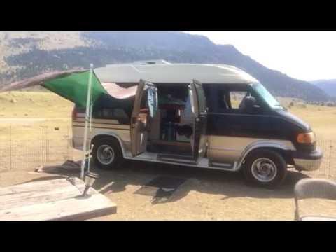 My FREE Campsite Near Yellowstone!