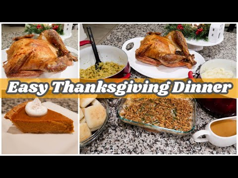 easy-thanksgiving-recipes- -how-to-cook-an-entire-thanksgiving-dinner-2020