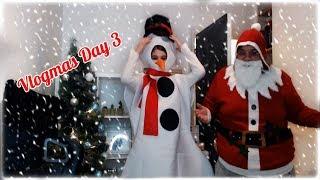 CHRISTMAS MARKET Vlogmas day 3 | ChloeLock