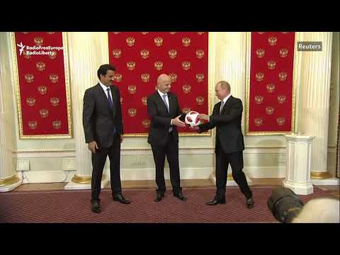 Russia Passes World Cup Ball To Qatar