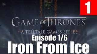 Game of Thrones Walkthrough Part 1 Gameplay Let's Play PC No Commentary A Telltales Games Series