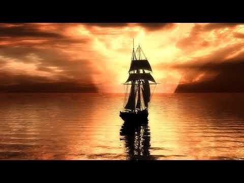 Картинка корабль. Небо, море, облака, фотошоп, свет, парусник, арт