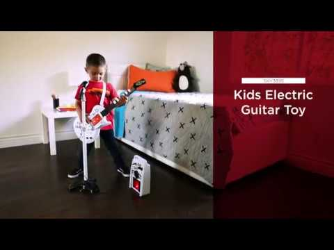 SKY3895 Kids Electric Guitar Toy Set