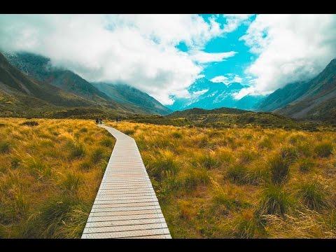 Blick auf den höchsten Berg Neuseelands   Hooker Valley   New Zealand Travel Vlog #42