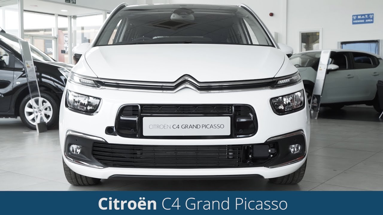 citroen grand c4 picasso 2017 review youtube. Black Bedroom Furniture Sets. Home Design Ideas