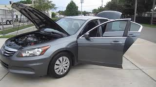 2012 Honda Accord LX VTEC 81K Miles Meticulous Motors Inc Florida For Sale