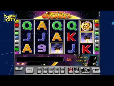 Игровой автомат - Golden Planet