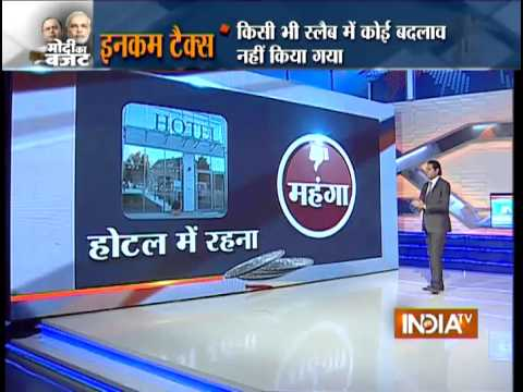 10 Key Highlights of Budget 2015-2016: No Change in Income Tax Slab - India TV