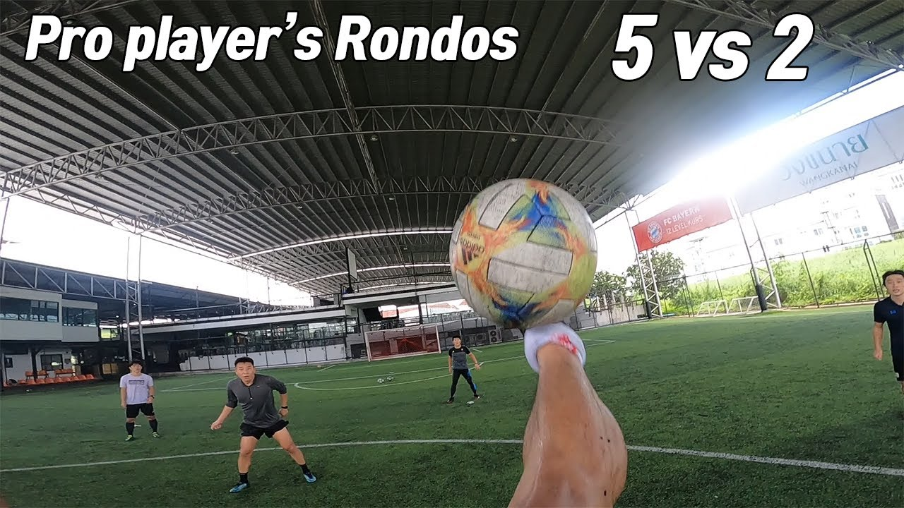 What is the level of rondos for pro players? Crazy level of rondos.