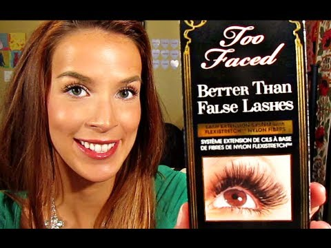 Too Faced Better Than False Lashes Lash Extension Mascara REVIEW ...