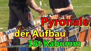 Pyronale Berlin der Aufbau mit 16.000 kg Sprengstoff [Vlog HD]