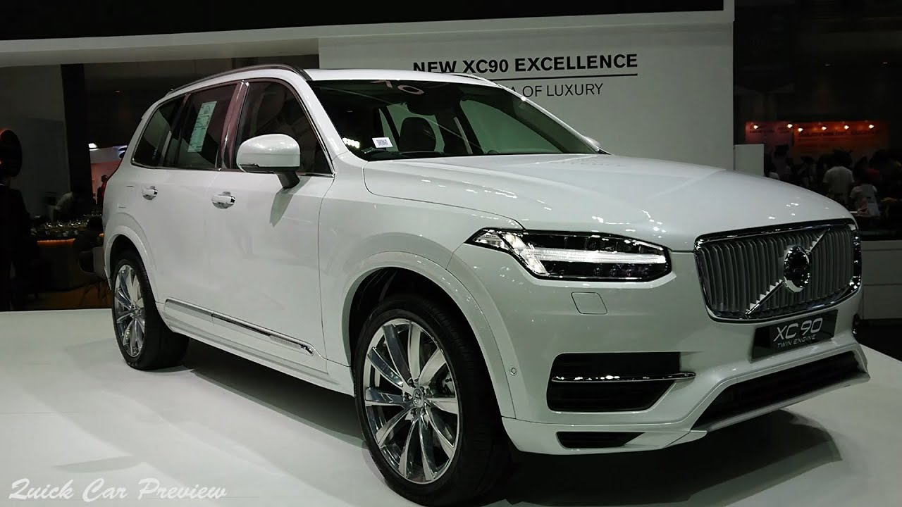 Quick Preview 2019 Volvo Xc90 Excellence T8 Plug In Hybrid Awd