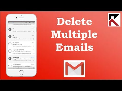 How To Delete Multiple Emails Gmail iPhone